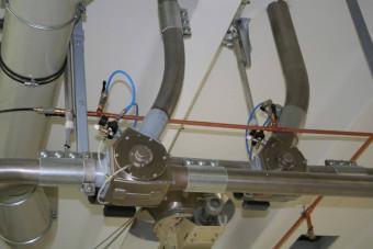установленный двухходовой переключатель потока VDM